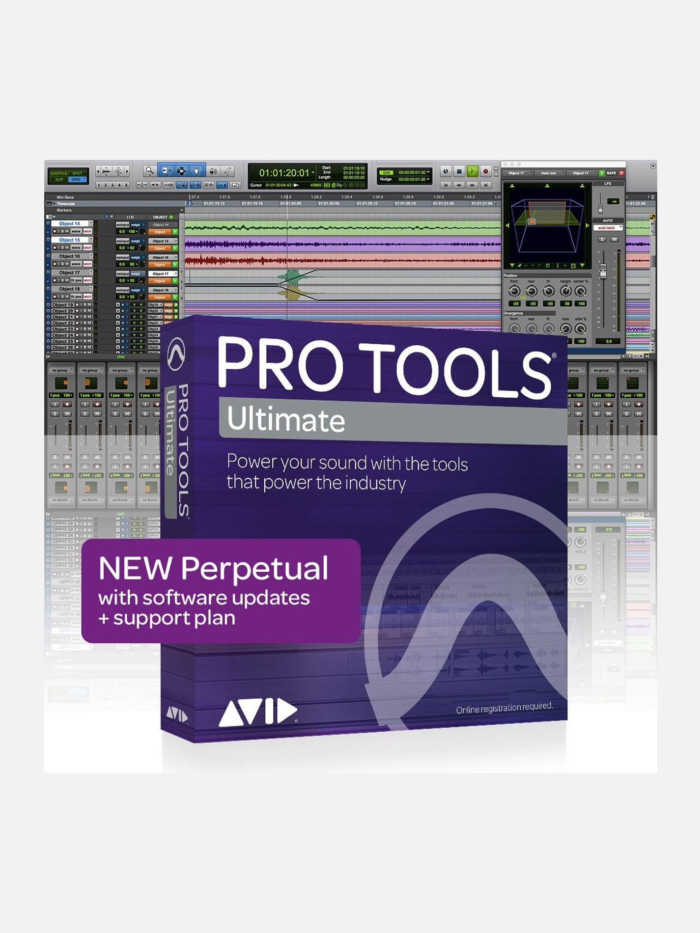 AVID – PRO TOOLS | ULTIMATE Perpetual License NEW (Software HD, no iLok)