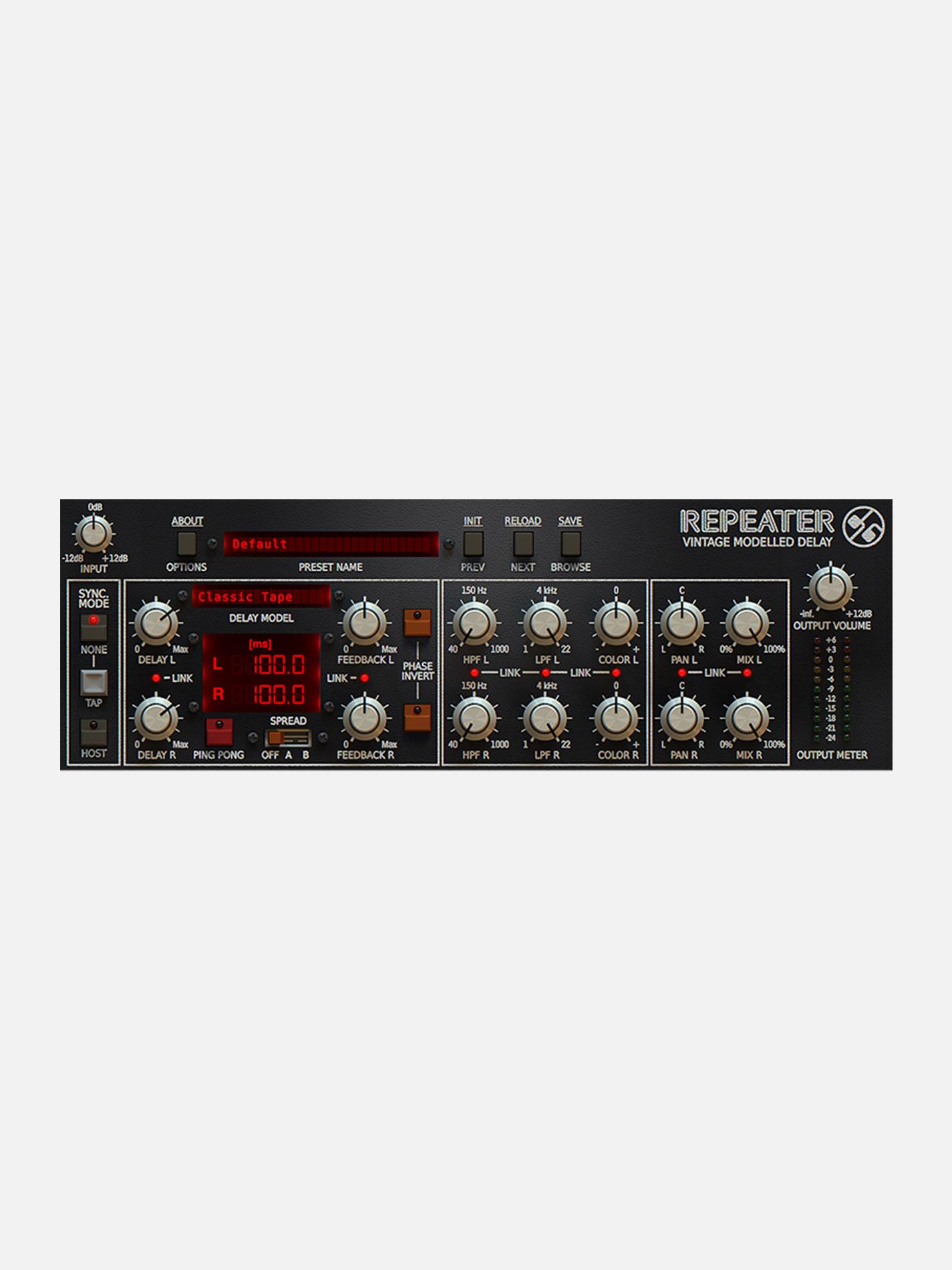SLATE DIGITAL – REPEATER DELAY Plugin