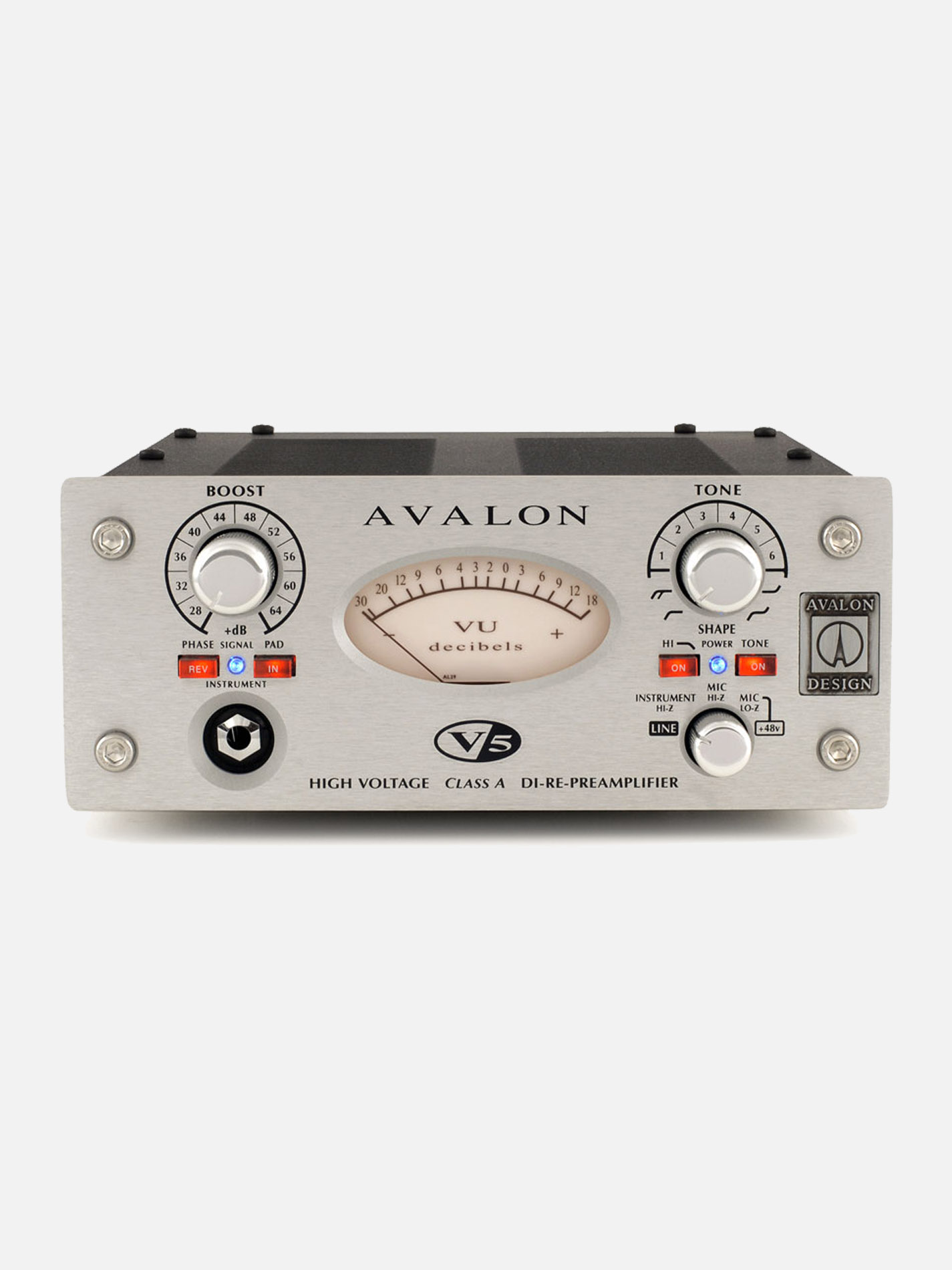 AVALON – V5 Preamp DI Reamp
